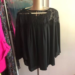 Boho lace blouse